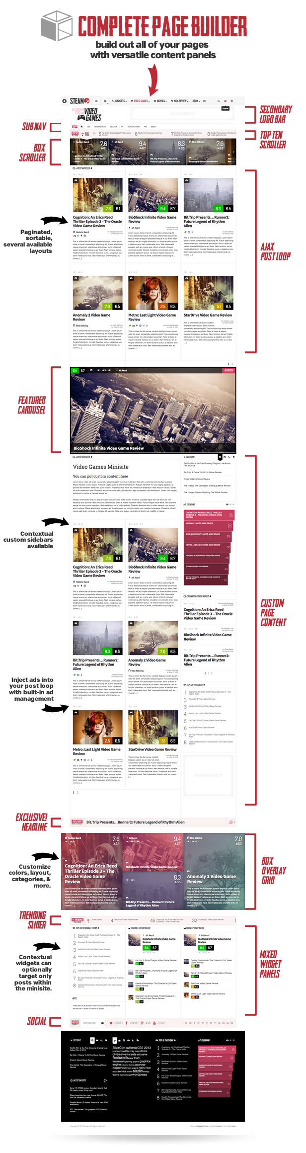 Steam - Responsive Retina Review Magazine Theme  Steam - Responsive Retina Review Magazine Theme  Steam - Responsive Retina Review Magazine Theme  Steam - Responsive Retina Review Magazine Theme