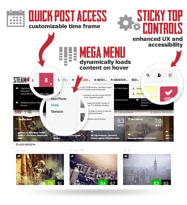 Steam - Responsive Retina Review Magazine Theme  Steam - Responsive Retina Review Magazine Theme  Steam - Responsive Retina Review Magazine Theme  Steam - Responsive Retina Review Magazine Theme  Steam - Responsive Retina Review Magazine Theme